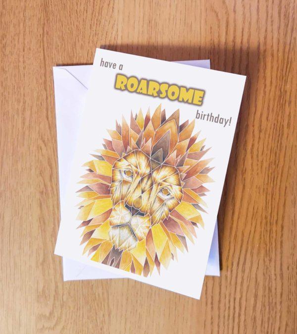 Roarsome Lion birthday