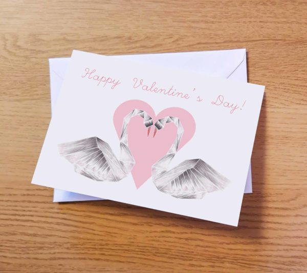 Valentine's Swans