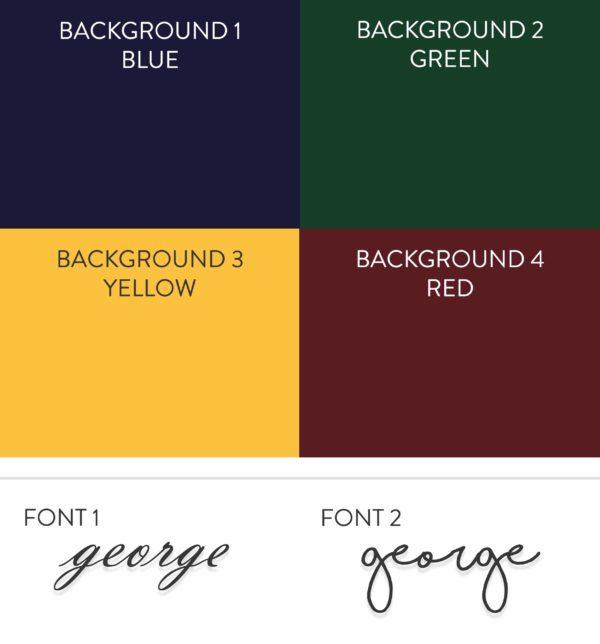 Dachshund print options