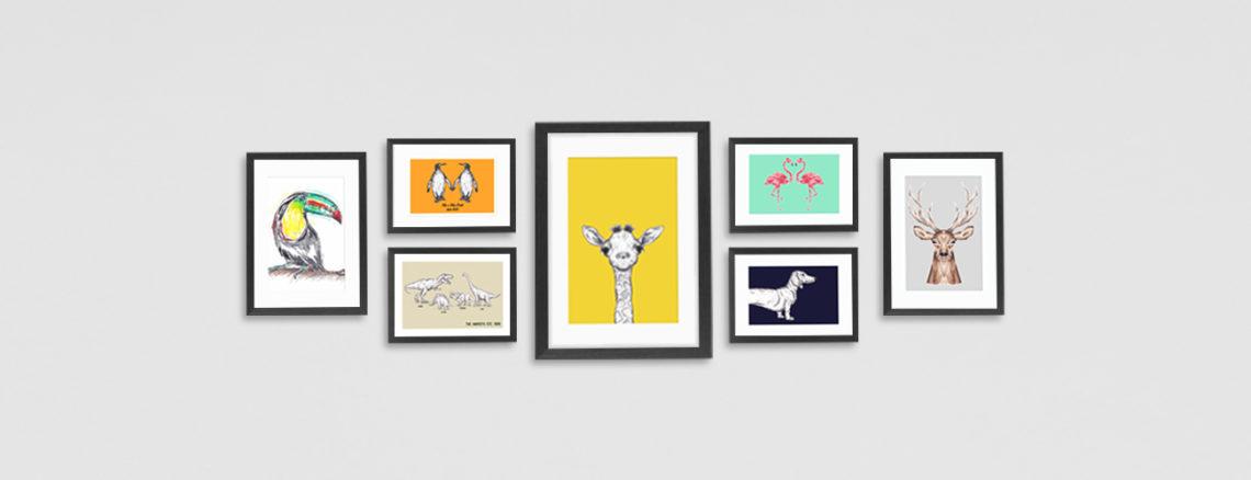 Art Print Wall