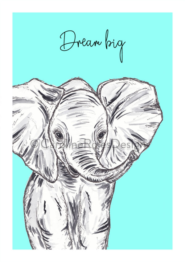 A5 ELEPHANT - DREAM BIG