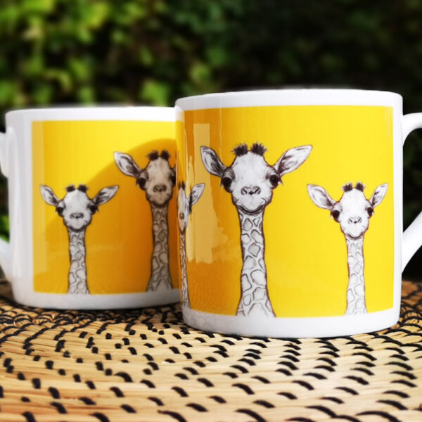 Giraffe Bone China Mug