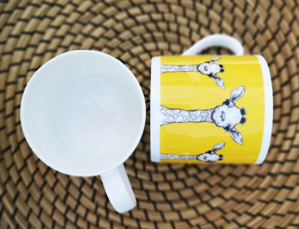 Giraffe Bone China Mug