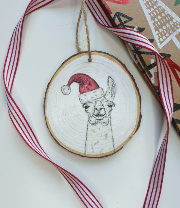 LLAMA CHRISTMAS DECORATION