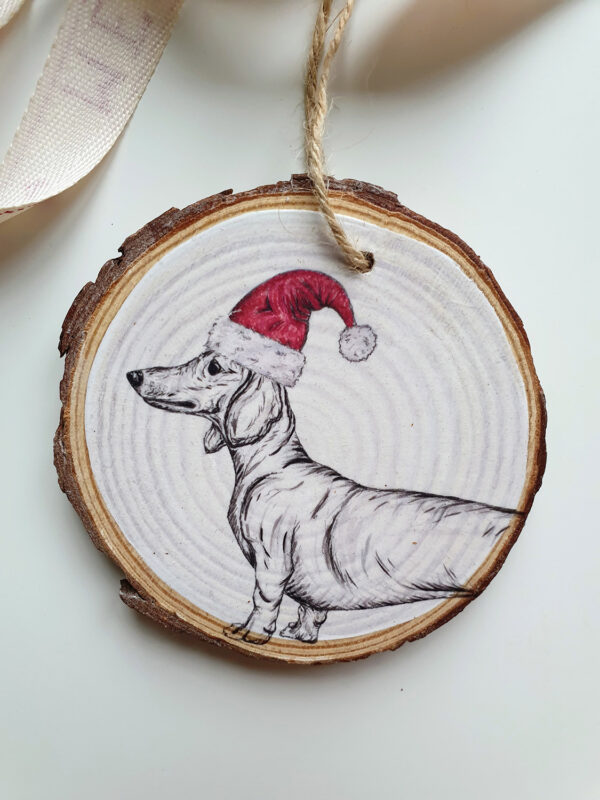 Dachshund Christmas decoration