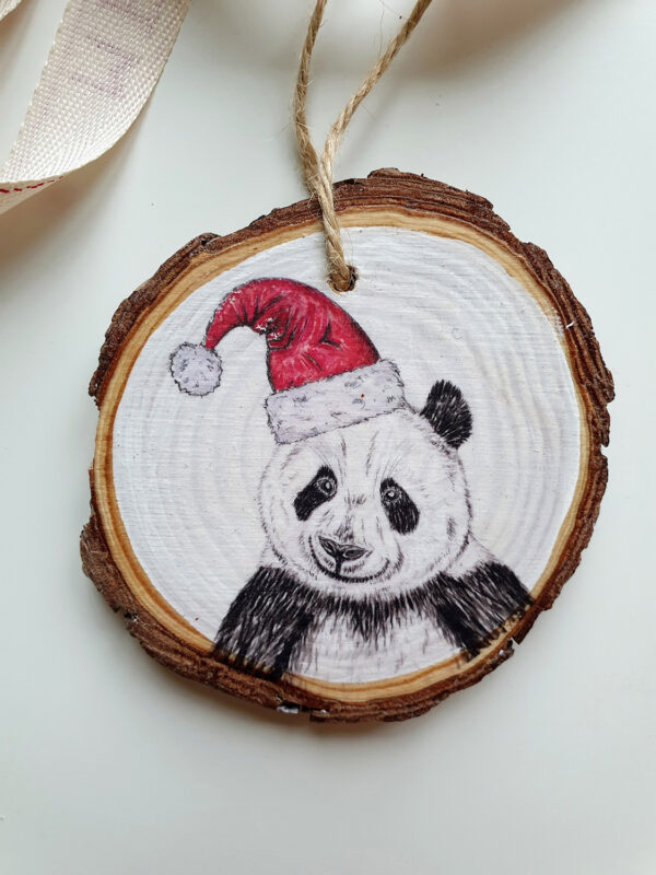Panda Christmas decoration