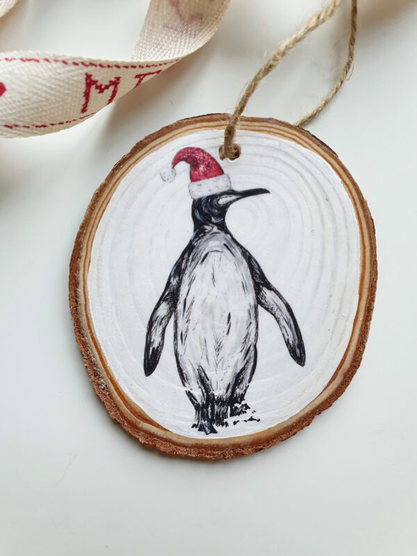 Penguin Christmas decoration