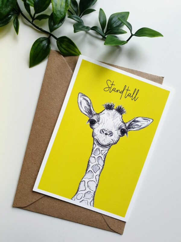 Giraffe letterbox love