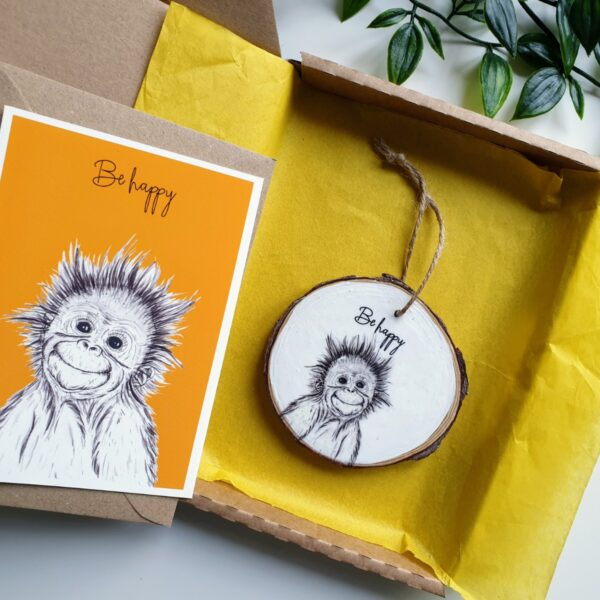 Orangutan letterbox love