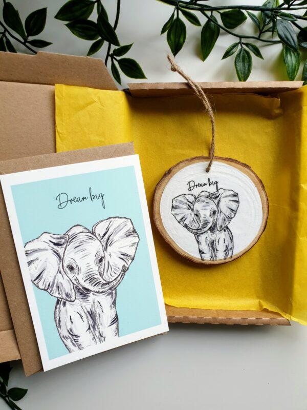 Elephant letterbox love