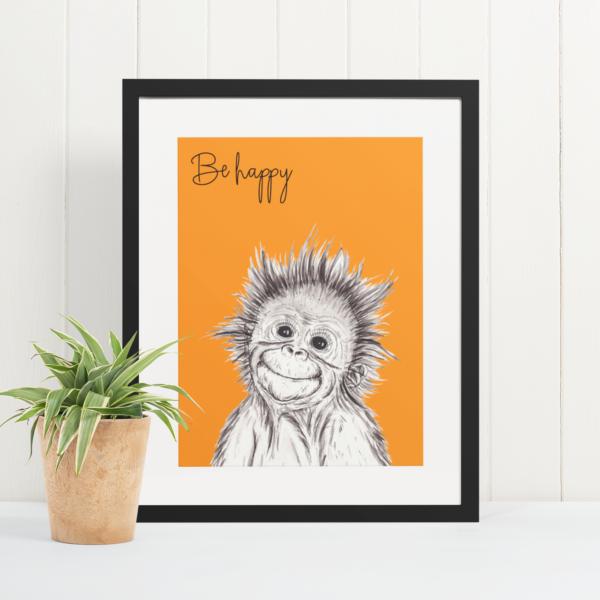Orangutan - be happy
