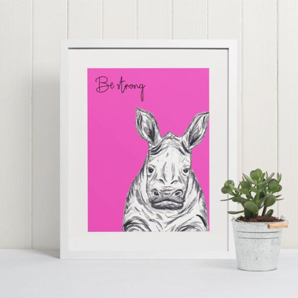Rhino - be strong