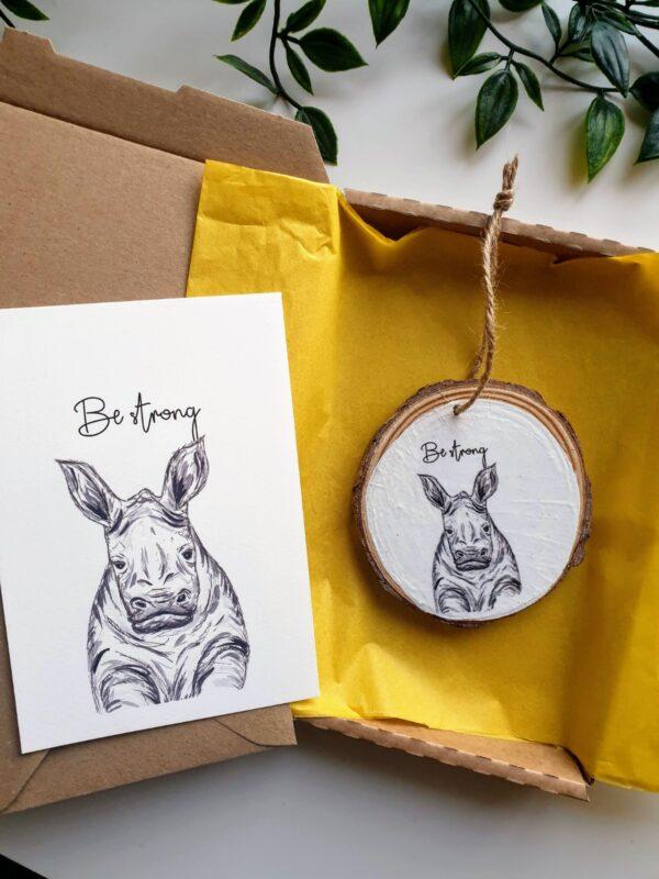 Rhino Keepsake gift