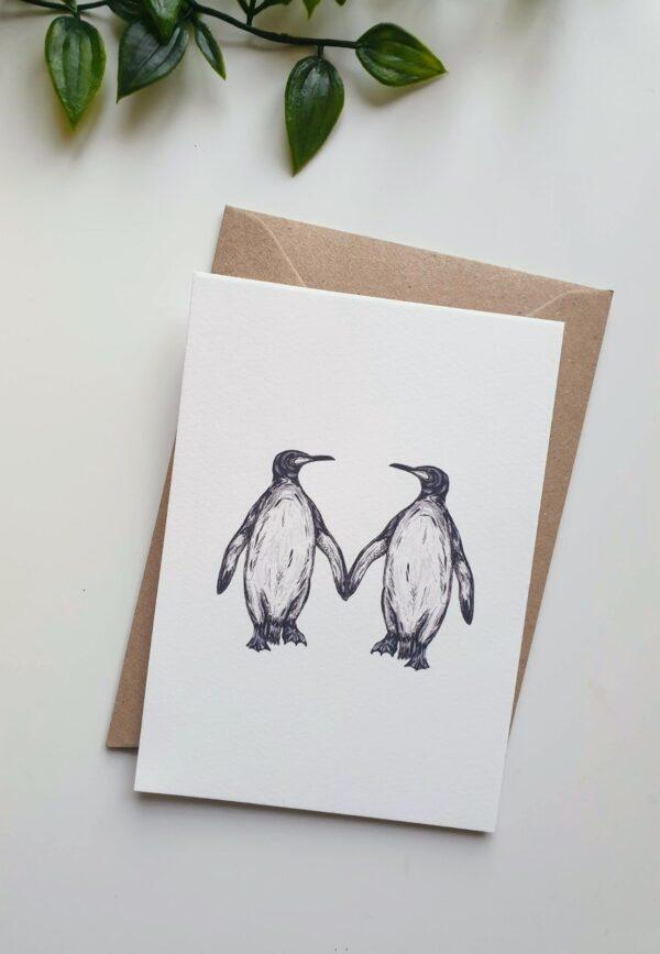 Penguins Keepsake
