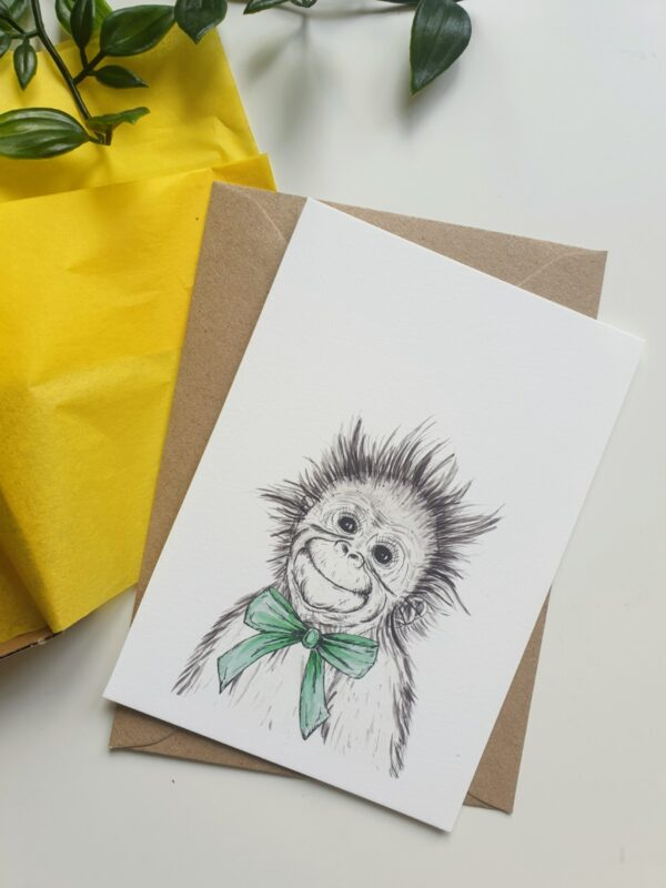 Cute Orangutan Keepsake