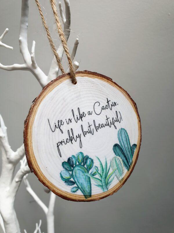 Cactus Keepsake gift
