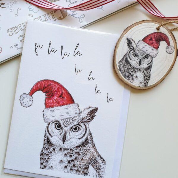 Owl Christmas bundle
