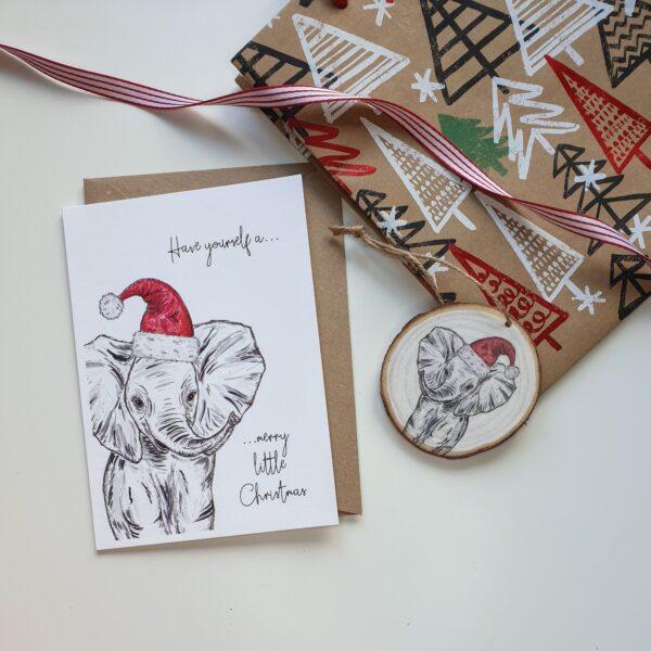 Elephant Christmas bundle